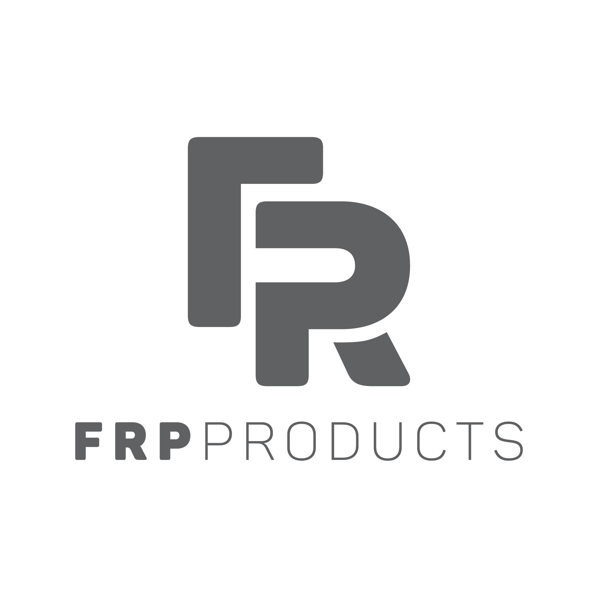 FRP Products Logo Grey 002